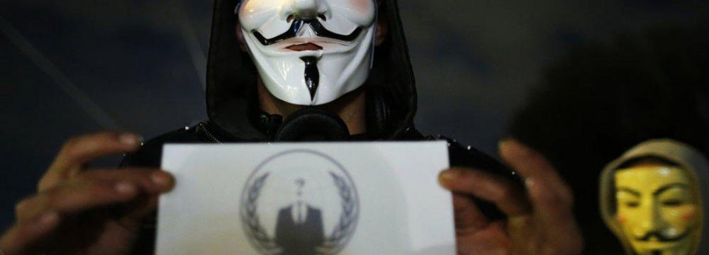 Anonymous Targets Saudi Websites