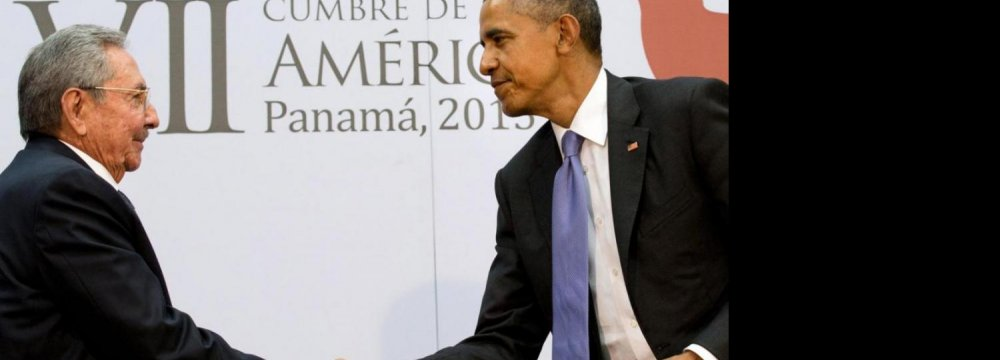Obama, Castro Vow  to Turn the Page