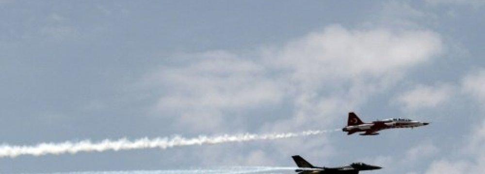 Turkey Launches Fresh Airstrikes Against PKK