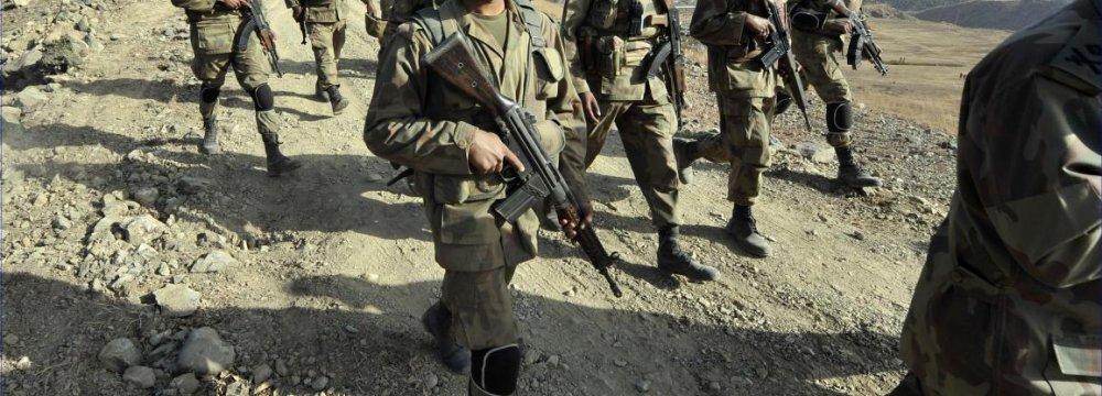 Pakistani Army Kills 14 Militants