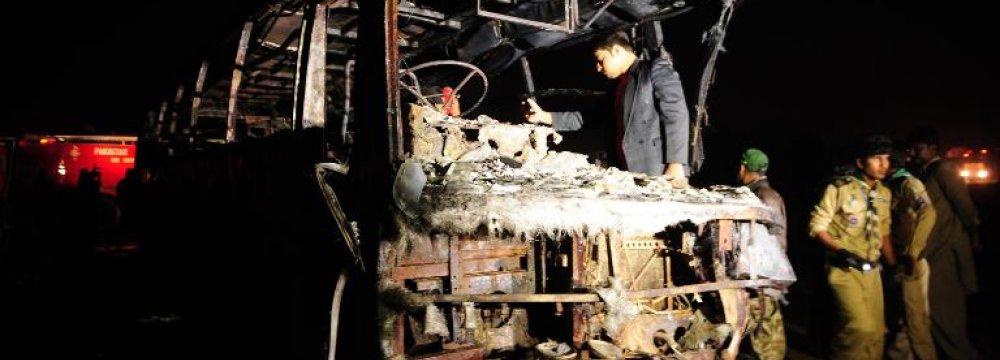 Pakistan  Fatal Crash
