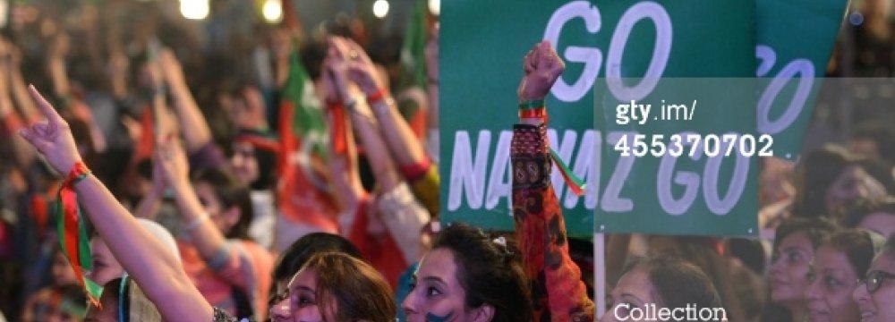 Pakistan Protest Talks Deadlocked