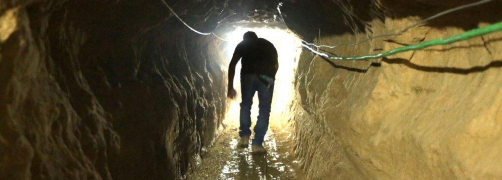 Egyptian Army Begins Flooding Gaza Tunnels