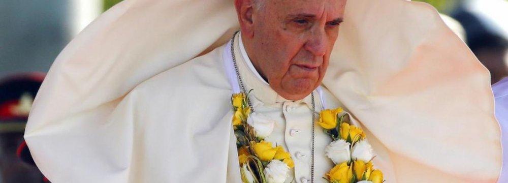 Pope  in Sri Lanka