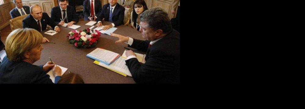 Putin, Poroshenko Meeting Positive