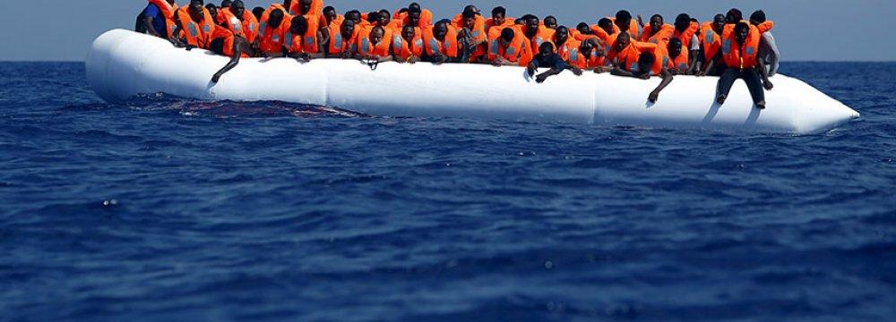 1,151 Migrants Rescued off Libyan Coast