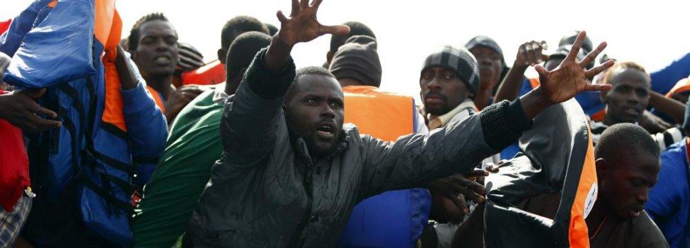 137,000 Refugees Crossed Mediterranean This Year