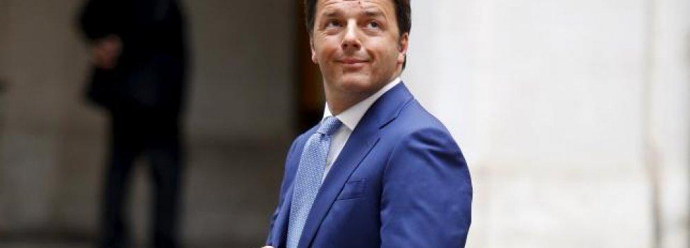 Renzi Stumbles in Local Elections