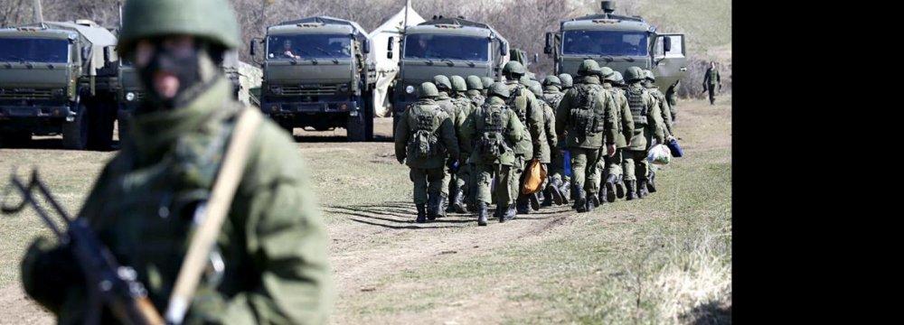 RussiaSays Will Respond toNATOMilitaryBuildup