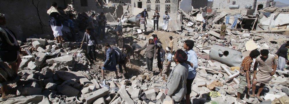UN Slams Saudi-Led Attacks as Houthis Accept Ceasefire