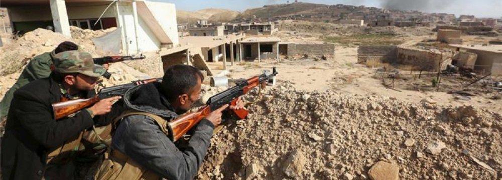 Kurdish Forces Seize Iraq's Sinjar Town