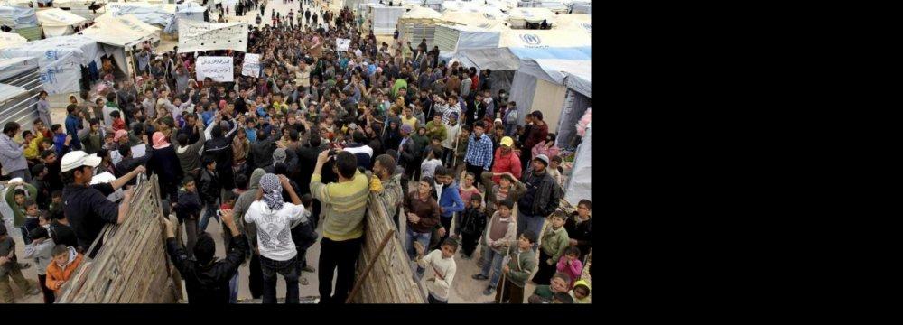 Syria Refugee Crisis Near Dangerous Turning Point