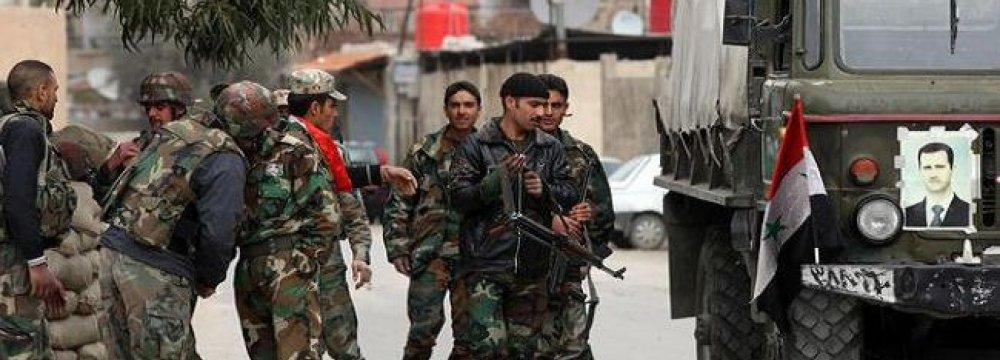 Syrian Army Advances