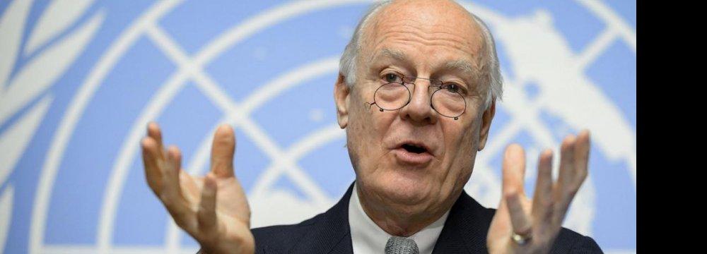 Syrian Peace Talks Begin Friday