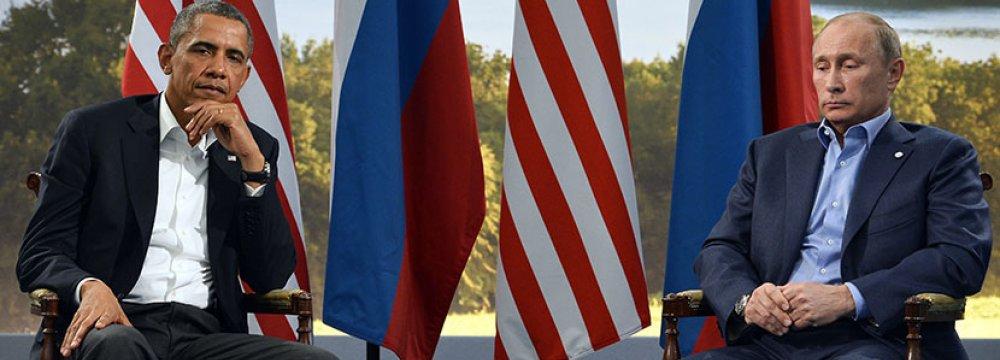 Putin, Obama Trade Barbs  at Syria-Focused Meeting
