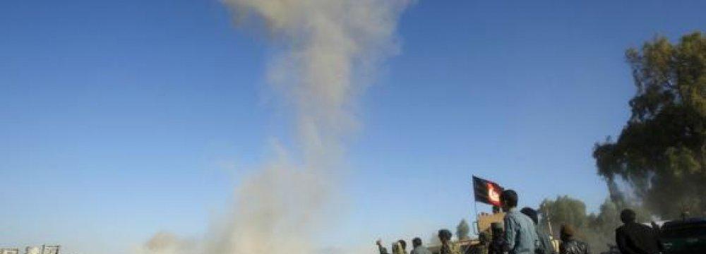 Taliban Bombs Kill 10 Afghan Policemen