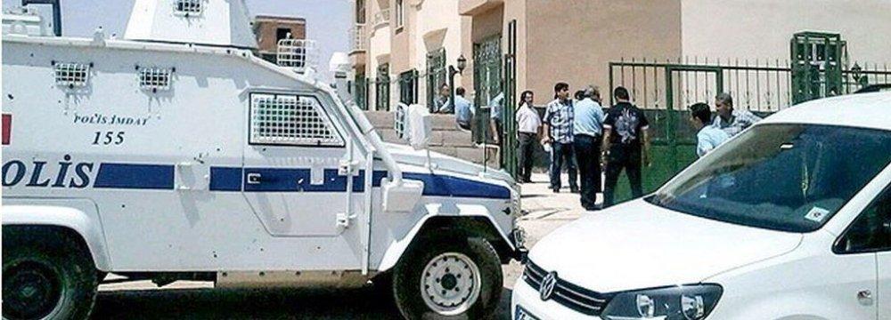 2 Turkish Police Officers Killed Near Syria Border