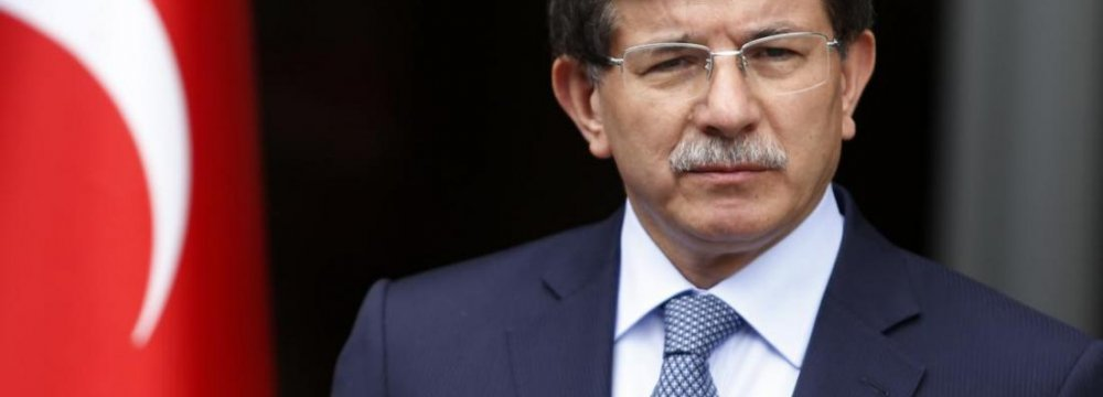 Turkish PM Officially Resigns