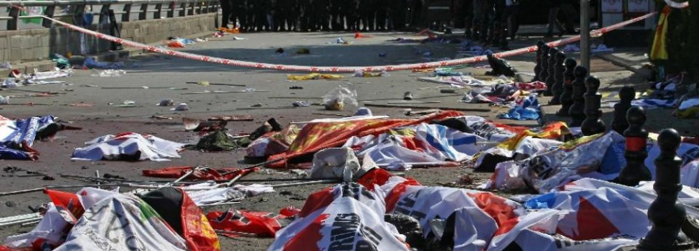 Pressure on Turkish Gov't Over Ankara Bombing