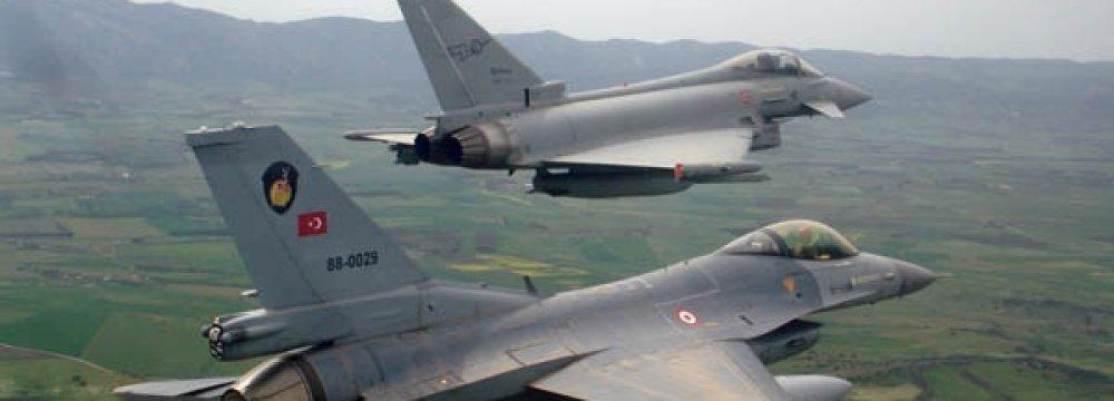 Turkish Jets Strike PKK