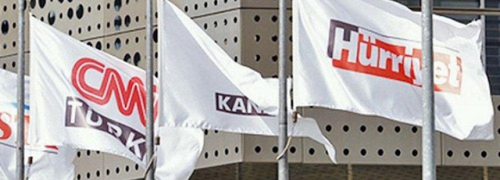 "Turkish  Media Group Probed for ""Terror Propaganda"""