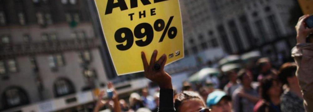 Occupy Wall Street Activists Mark Anniv.