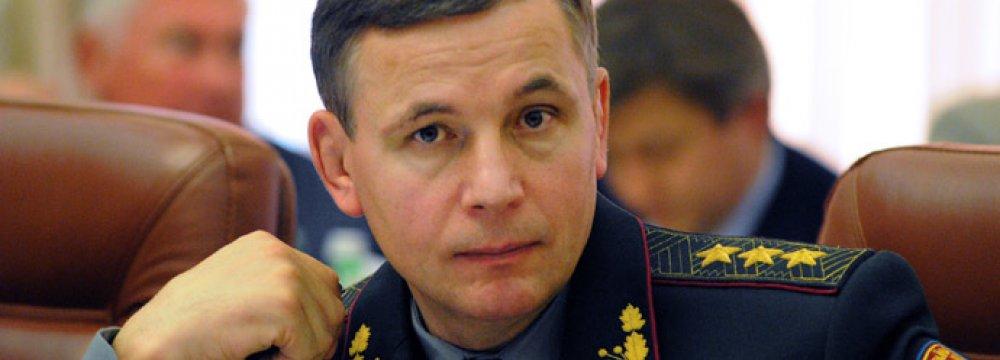 Ukraine Defense Minister Resigns