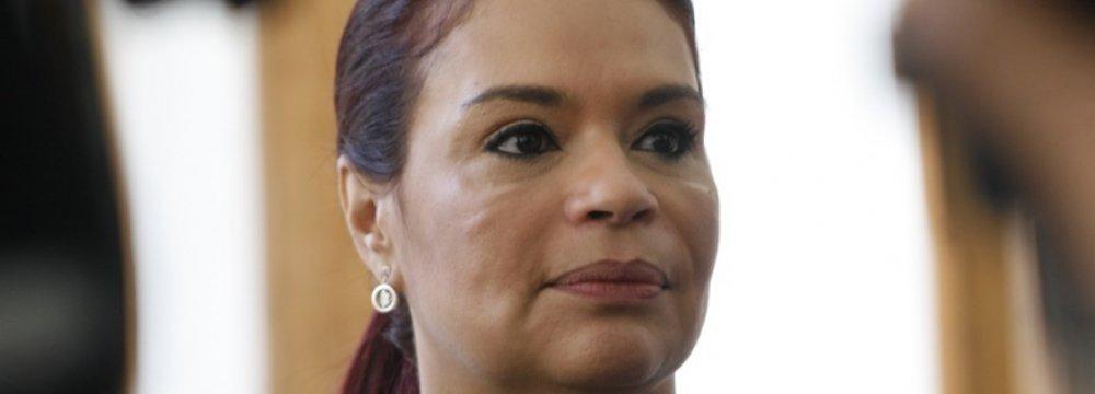 Guatemalan VP Resigns