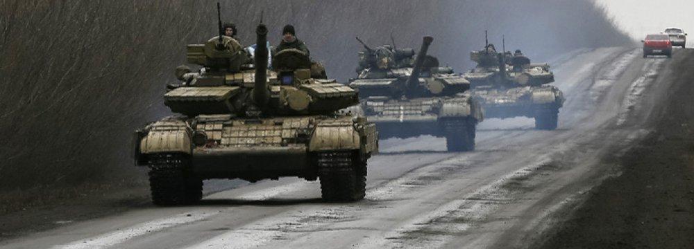 West Warns of Major Ukraine Truce Violation
