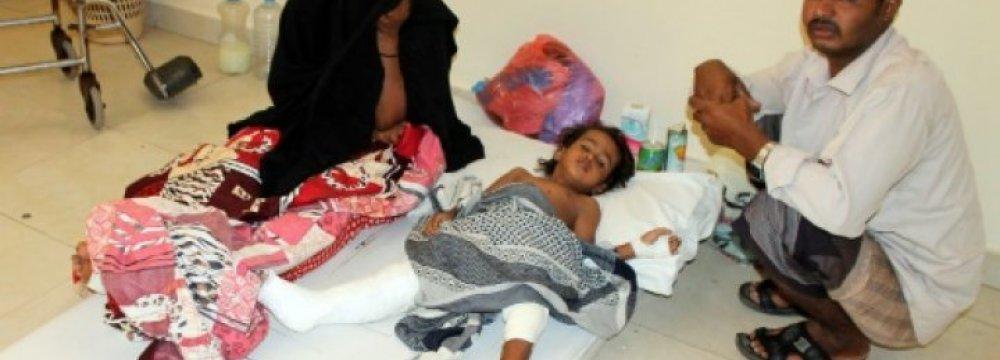 Yemen Health Services Nearing Collapse