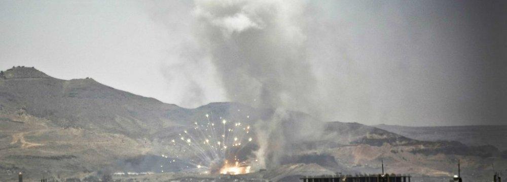 Sanaa Sees Heaviest Airstrikes