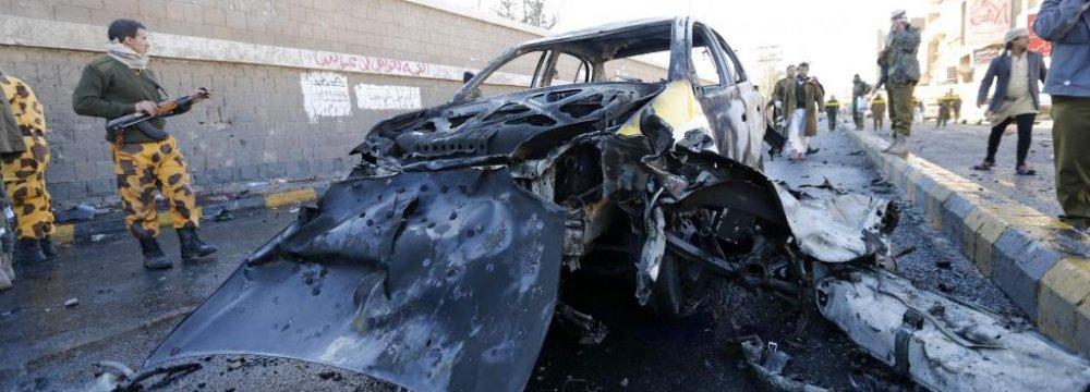 30 Killed, 50 Injured  in Yemen Car Bombing