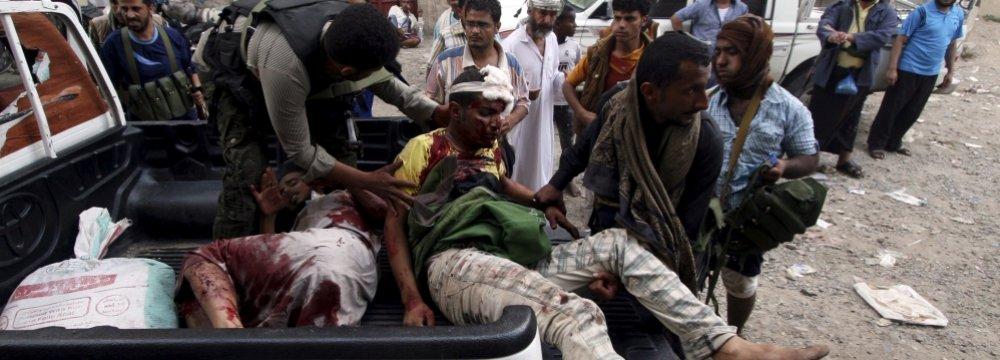12 Killed Overnight  in Yemen Fighting