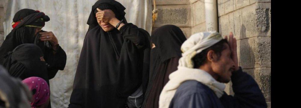 Yemen Civilian Deaths Amount to War Crimes