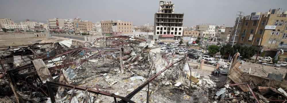 65 Killed in Yemen  by Saudi Air Raids