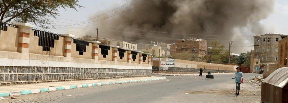 Saudi-Led Air Strikes, Ground Combat Shake Southern Yemen