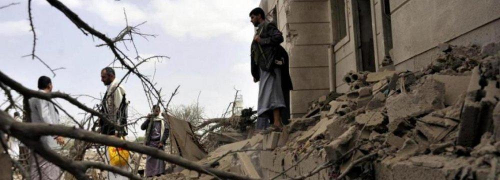 Coalition Air Strike, Clashes Kill 27 in Yemen