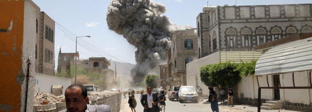 UN Panel Calls for Int'l Inquiry Into  Saudi Attacks on Yemen