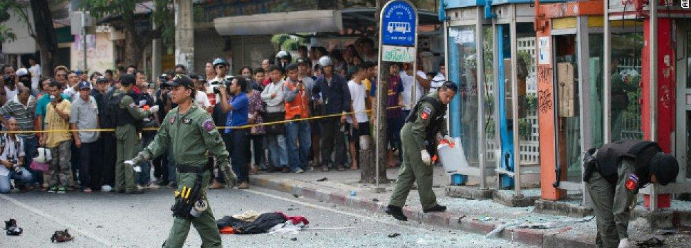 Bangkok Bomb Plotter Flew to China