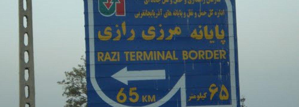 Razi-Kapikoy Border Exports Up 40%