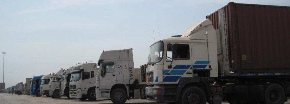 Q1 Non-Oil Goods Transit Tops 3m Tons