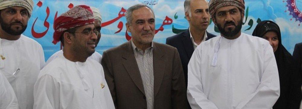 Omani Delegation in Khuzestan