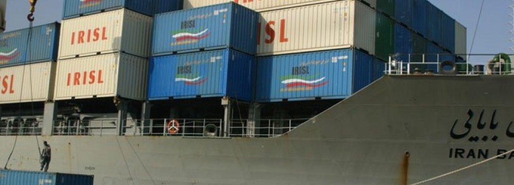 Exports via Mehran Rise