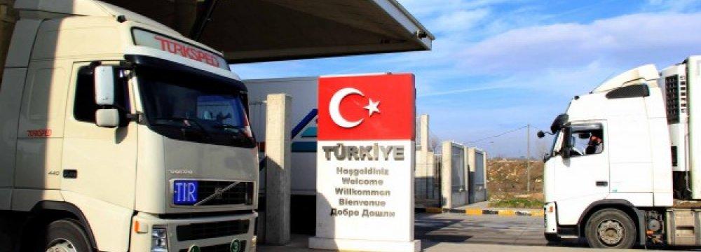 Imports From Turkey