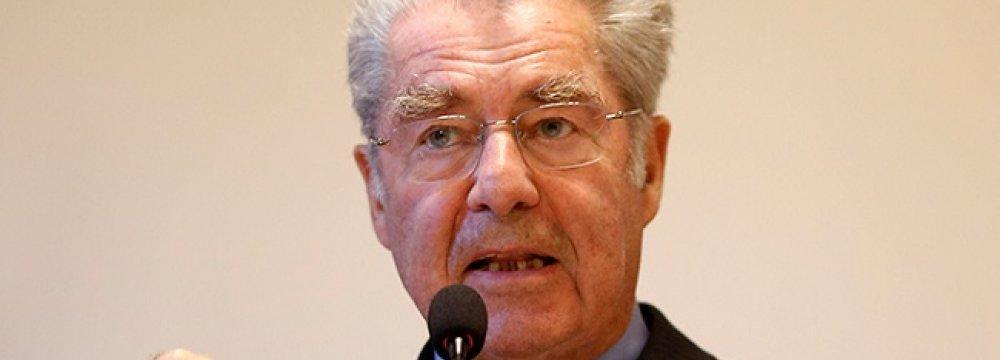 Austrian President Due