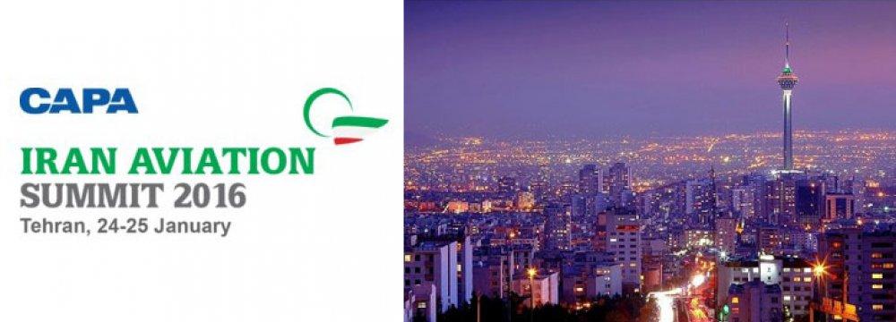 Iran Plans 1st Int'l Aviation Summit in 40 Yrs.
