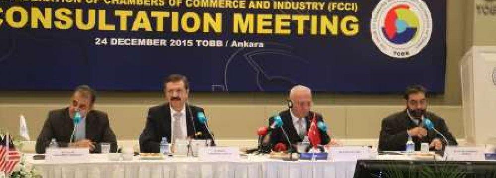 D-8 FCCI Convenes in Ankara