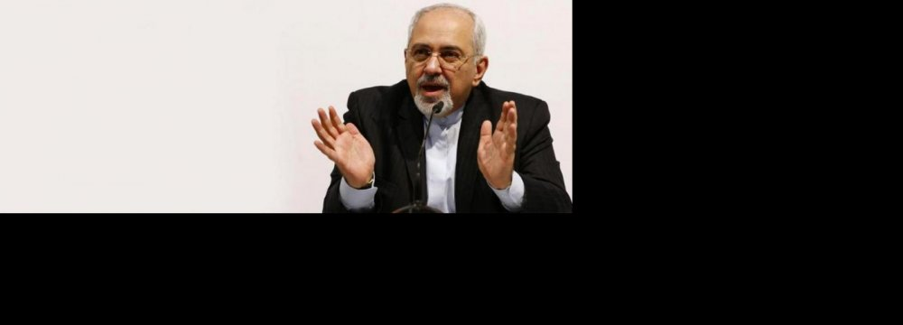 Zarif Chairs ECO Meeting in New York