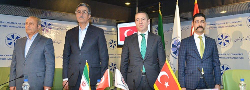 TCCIMA Urges Boost in Turkish Ties