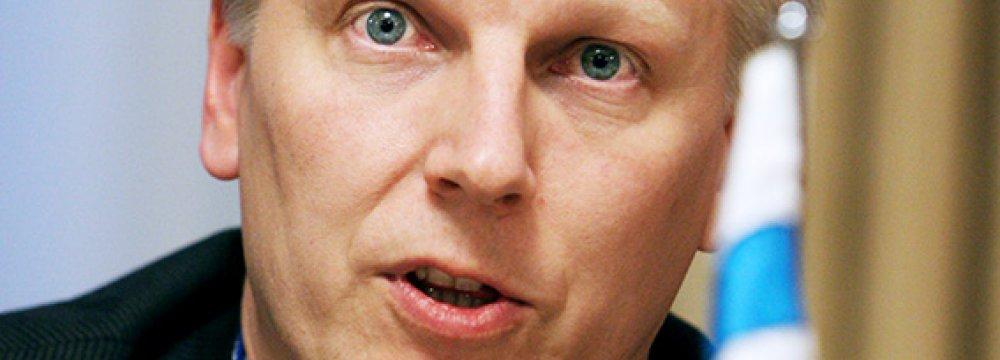 Finnish Agro Minister Due  on Sat.